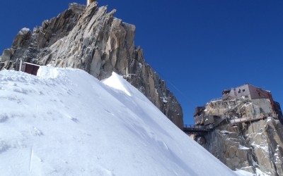 Snow & Ice Climbing Course at Aiguille du Midi 3842M